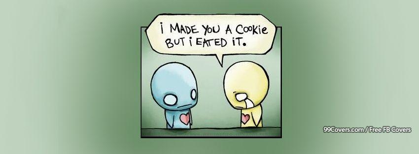 Cookie Eat Facebook Cover Photos