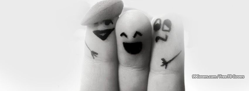 Finger Friends Facebook Cover Photos