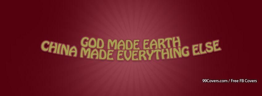 God Made Facebook Cover Photos