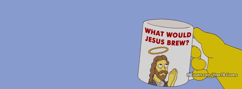 What Would Jesus Brew Facebook Cover Photos