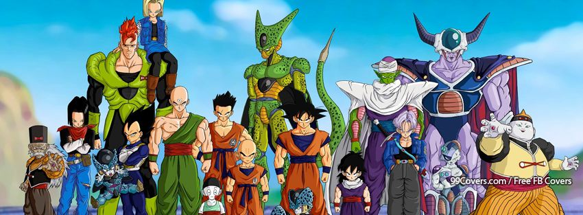 Dragon Ball Z Cover Photo For Facebook Timeline