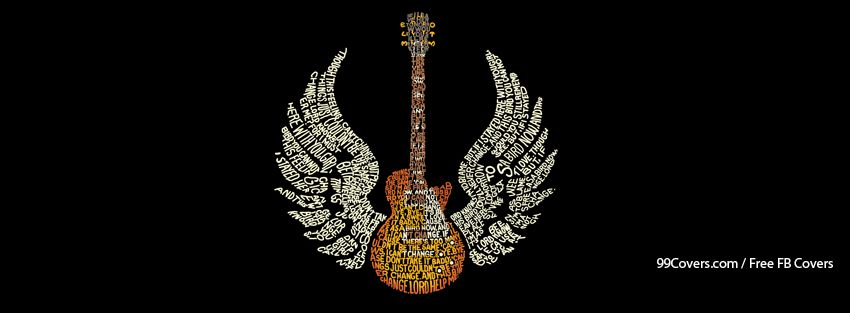 Music Guitar Epic Typography