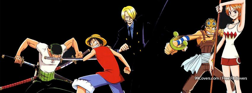 One Piece Facebook Covers