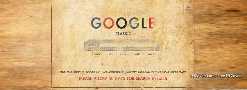 Google Classic Facebook Covers