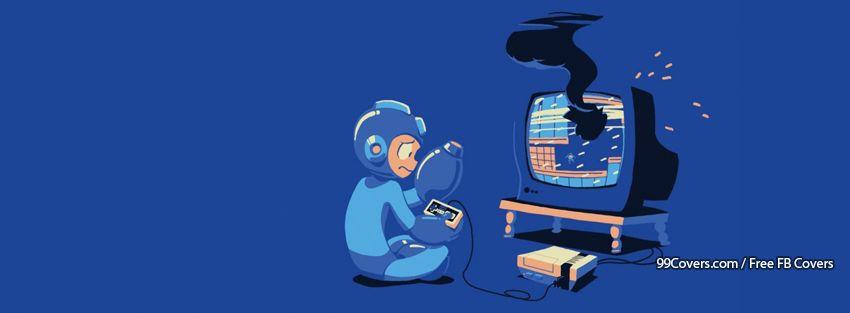 Mega Man Fail Facebook Cover Photos