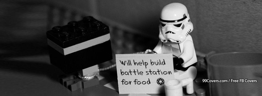 Star Wars Lego Sign Stormtrooper Station Facebook Cover Photos