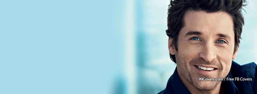 Patrick Dempsey 3 Facebook Covers