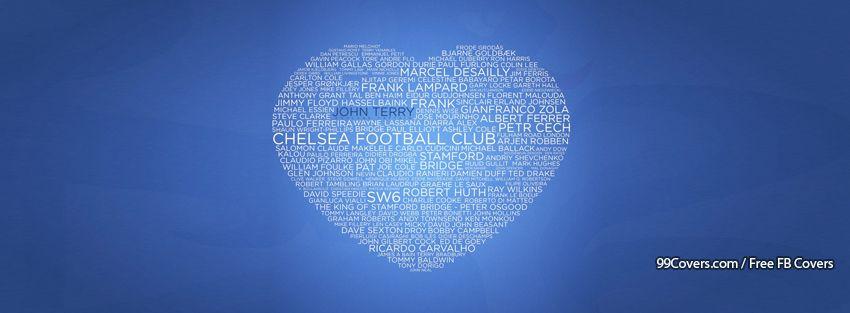 Soccer Love Heart Type Art Facebook Covers
