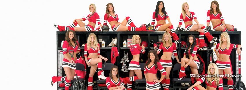 Chicago Black Hawks Girls Facebook Cover Photos