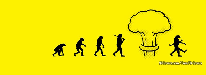 Funny Evolution Facebook Cover Photos