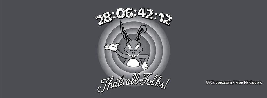 Funny Donnie Darko Looney Tunes Facebook Cover Photos