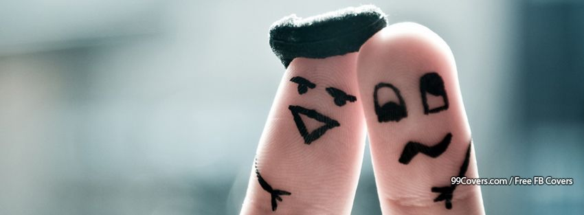 Funny Fingers 4 Facebook Cover Photos
