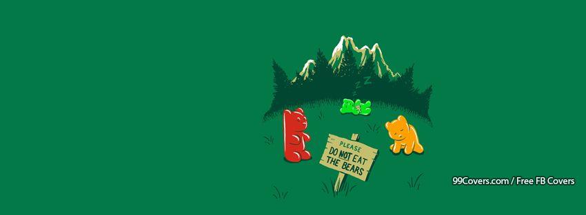 Funny Gummy Bears Facebook Cover Photos