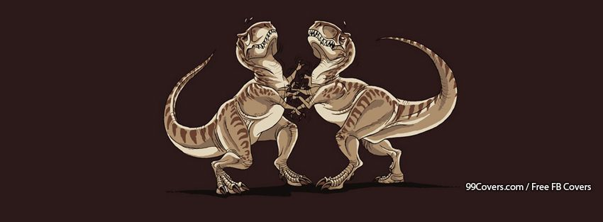Funny Dinosaurs Facebook Cover Photos