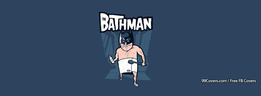 Funny Bathman Facebook Cover Photos