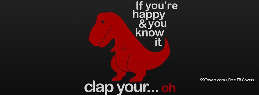 Funny Dinosaur Facebook Cover Photos