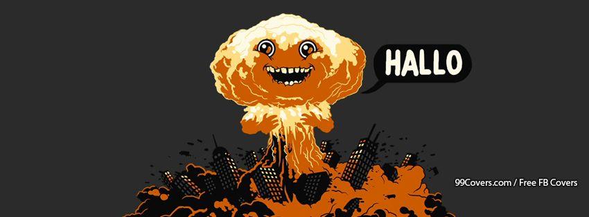 Funny Explosion Facebook Cover Photos