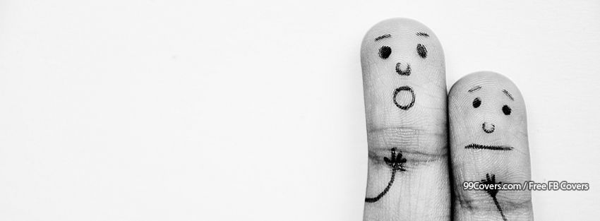 Funny Fingers 3 Facebook Cover Photos