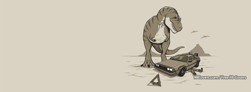 Funny Dinosaur 5 Facebook Cover Photos