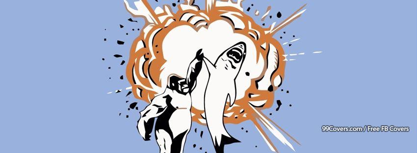 Funny Explosion 2 Facebook Cover Photos
