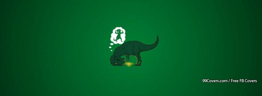 Funny Dinosaur 2 Facebook Cover Photos