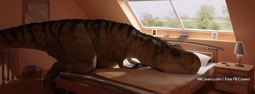 Funny Dinosaur 7 Facebook Cover Photos