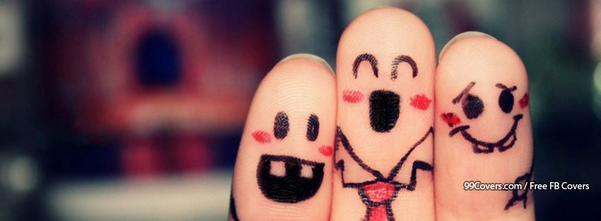 Funny Fingers 5 Facebook Cover Photos