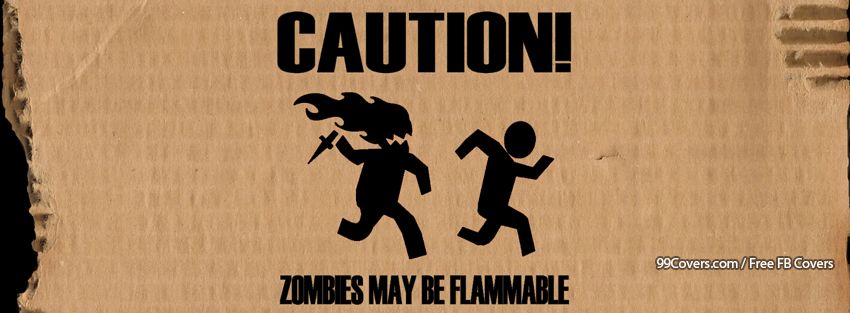Funny Zombies Facebook Cover Photos