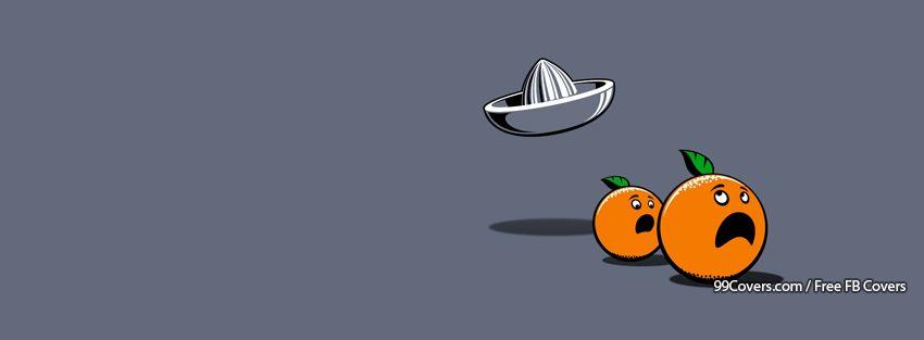 Funny Oranges Facebook Cover Photos