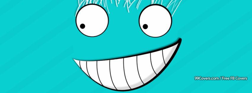 Funny Smiley 6 Facebook Cover Photos