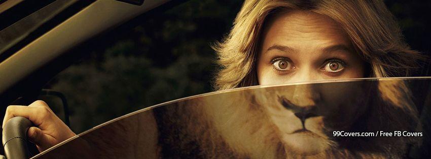 Funny Lion Woman Facebook Cover Photos