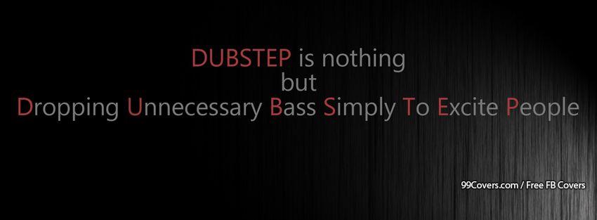 Funny Music Dubstep Facebook Cover Photos