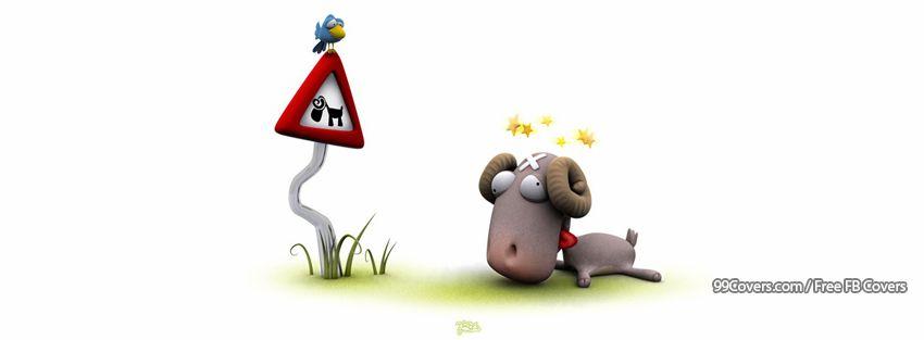 Funny Sheep 3 Facebook Cover Photos