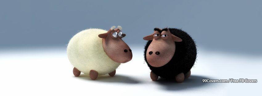 Funny Sheep 2 Facebook Cover Photos
