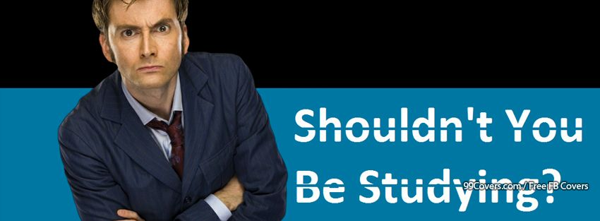 Funny Slogan David Tennant Doctor Who Facebook Cover Photos