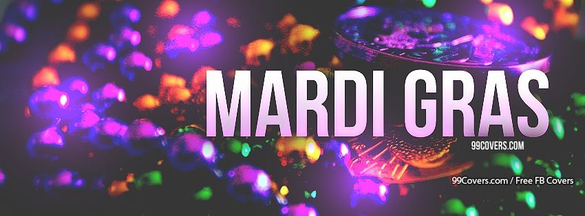 Happy Mardi Gras Facebook Covers