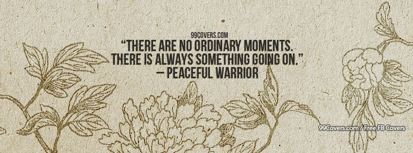 Peaceful Warrior 2 Facebook Covers
