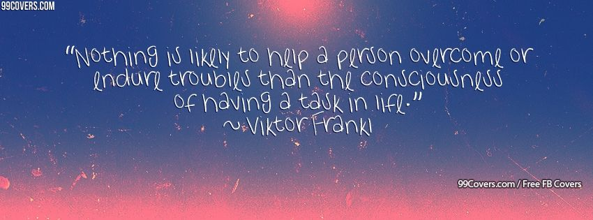 Viktor Frankl 2 Facebook Covers