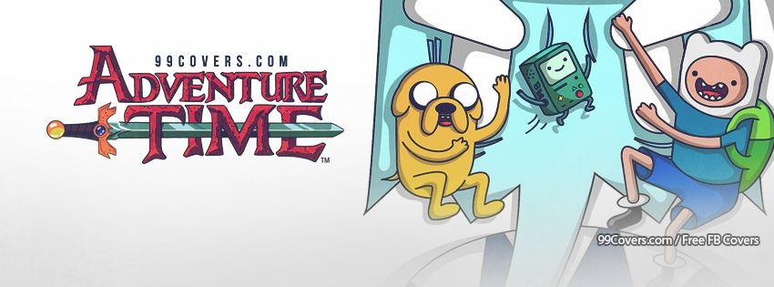 Adventure Time With Jake And Finn 3 Facebook Covers