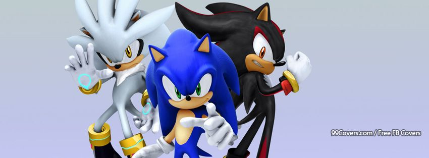Sonic The Hedgehog Flames Of Disaster Facebook Covers