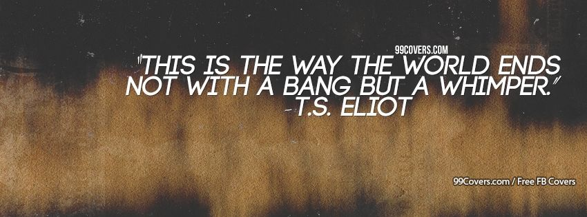 TS Eliot Facebook Covers