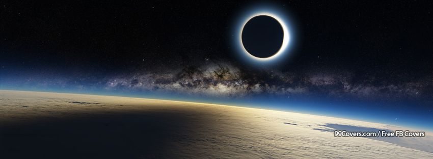 Solar Eclipse Facebook Cover Photos