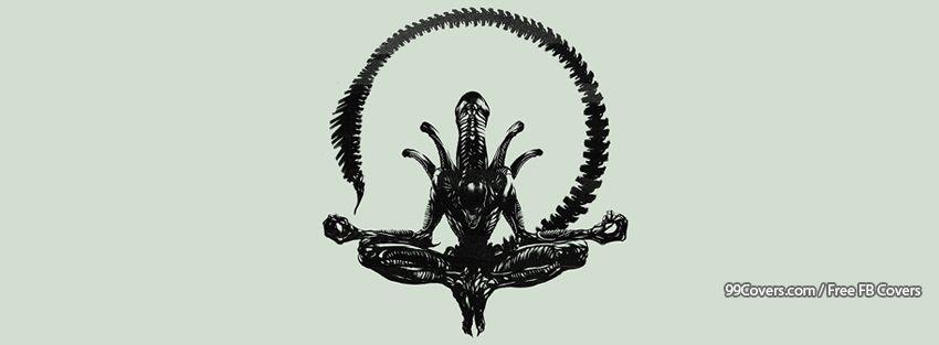 Facebook Cover Photos - Minimalistic Xenomorph Alien ...