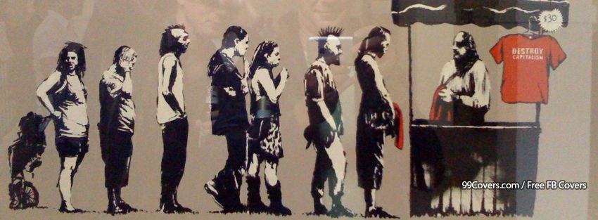 Facebook Cover Photos - Banksy Street Art Destroy ...