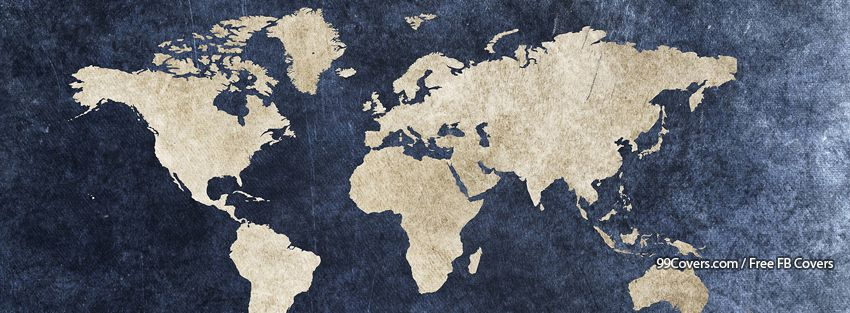 Facebook cover photos vintage world map facebook covers vintage world map facebook covers gumiabroncs Choice Image