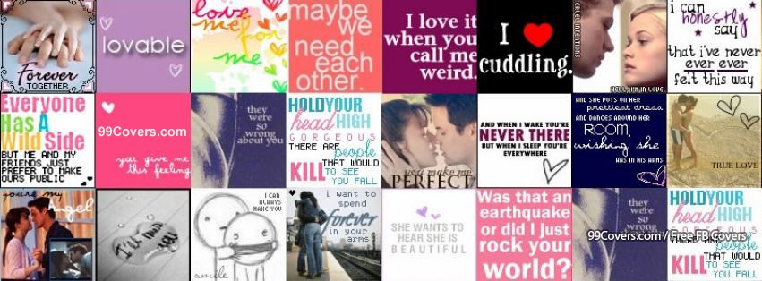 Love Quotes Collage Photos