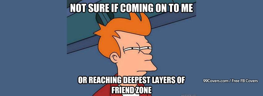Futurama Fry Friend Zone Facebook Cover Photos