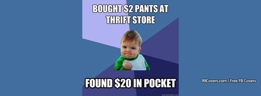 Success Kid Thirft Store Facebook Cover Photos