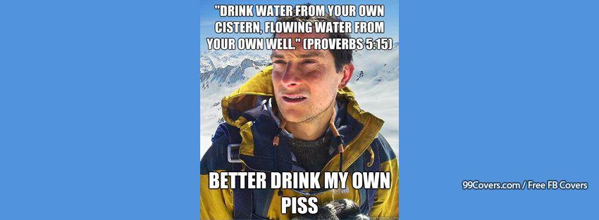 Bear Grylls Facebook Cover Photos
