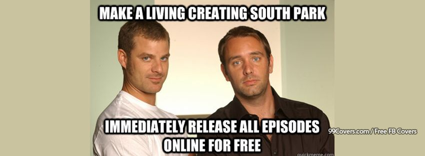 Good Guys Matt And Trey South Park Facebook Cover Photos